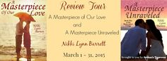 Author's Taproom is now booking a review tour for A MASTERPIECE OF OUR LOVE and A MASTERPIECE UNRAVELED, the first two books in Nikki Lynn Barrett's Masterpiece Trilogy.  The review tour will run...