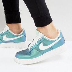 "1,398 Likes, 12 Comments - Fashion Store 〽️ By Gal (@coolthings.il) on Instagram: ""מהדורה מוגבלת Nike Air Force 1 Lv 8 trainers in blue קיימות במידות 38.5-48.5 משלוחים עד הבית…"""