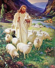Good Shepherd -- Sallman