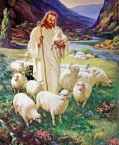 Good Shepherd -- Sallman