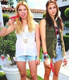 Ashley Benson and Troian Bellisario, love them both. #PLL