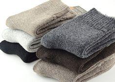 EBMORE® Man Super Thick Wool Crew Winter Socks 5-Pack EBMORE® http://www.amazon.com/dp/B014IVTLXS/ref=cm_sw_r_pi_dp_Taemwb0GWH9J3