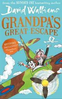Grandpa's Great Escape by David Walliams. Walliams is back with what promises to be another hugely dark & hilarious tale. Going from strength to strength, he is now one of the most popular authors for kids age 8+.