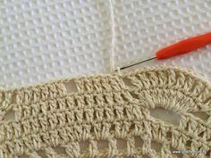 Tapete redondo com flor GIRASSOL – parte 2 | Croche.com.br