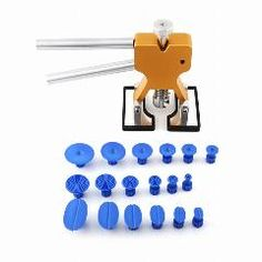 [ 26% OFF ] Lifter Glue Puller 18 Tabs Hail Removal Paintless Dent Repair Pdr Tool Kit Lifter Glue Puller Lifter Glue Puller Tabs Kit