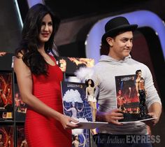 PHOTOS: Dhoom 3: Tech savvy Aamir Khan, Katrina Kaif Photo Gallery, Picture News Gallery - The Indian Express