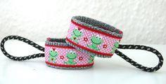 SEPPY Reißverschlussanhänger Frosch verliebt von _*DIVENDO*_ auf DaWanda.com