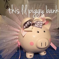 Hey, I found this really awesome Etsy listing at https://www.etsy.com/listing/123974505/piggy-bank-tutu-large-pearl-tutu-piggy
