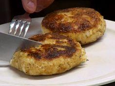 Crab Cakes recipe from Robert Irvine via Food Network