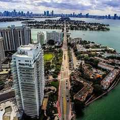 This view is incredible! Follow @homesinmiami for amazing homes  by @highdrone
