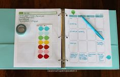 Organize your life - the 2013/2014 Clean Mama Planner - Clean Mama