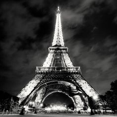Night View Eiffel Tower | ... view gallery view prints featured in groups to friends message