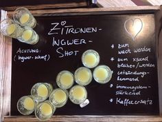 Zitronen-Ingwer-Shot