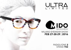 Alla fiera dell' eyewear, a Milano dal 27 a 29 febbraio, sveleremo nuovi modelli e tante tante novità tutte all'insegna del colore!  #Mido2016 #neverendingwonder #ULTRALIMITED #eyewear #glasses  #Milano #MilanoEyewearShow 