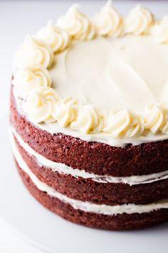 The Most Amazing Red Velvet Cake