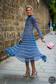 Haute Couture Fall / Winter 2017/18 Street Style: Helena Bordon