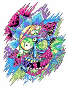 Rick e Morty Rick And Morty Drawing, Rick And Morty Tattoo, Trippy Wallpaper, Iphone Wallpaper, Rick I Morty, Trippy Rick And Morty, Rick And Morty Poster, Ricky And Morty, Kampot