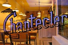 "Introducing: Chantecler, Parkdale's new place for ""progressive Canadian cuisine"" Canadian Cuisine, Behind Bars, Vintage Lettering, Neon Signs, Restaurant, Places, Originals, Gypsy, Canada"