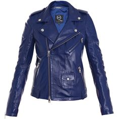 Mcq alexander mcqueen jackets BLUE ($1,705) found on Polyvore