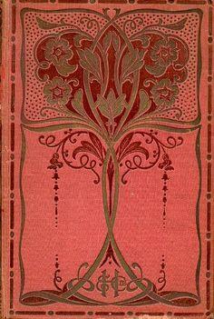 """art nouveau - """"L'Oncle Placide"""",Jule Girardin, book cover,1914"""