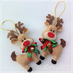 1 million+ Stunning Free Images to Use Anywhere Christmas Decorations Sewing, Felt Decorations, Felt Christmas Ornaments, Christmas Sewing, Christmas Mood, Christmas Projects, Easy Halloween Crafts, Holiday Crafts, Felt Crafts