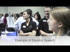 Minnesota Private Colleges Job and Internship Fair Video (5 Min) -- Includes Elevator Speech Examples