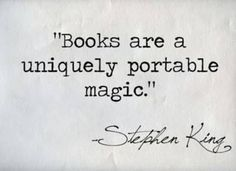 Do you have any great quotes about books and reading to share? I'd Reading Quotes From Books Clueless Cher Quotes Cl Citations Stephen King, Stephen King Quotes, Stephen Kings, Great Quotes, Quotes To Live By, Me Quotes, Inspirational Quotes, Famous Book Quotes, Profound Quotes