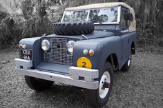 Classic Rides! The 1961 Land Rover Defender Series IIA #cars