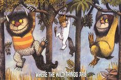 Go back to your childhood with this great poster of a Maurice Sendak illustration from his classic children's book Where the Wild Things Are! Fully licensed - 2