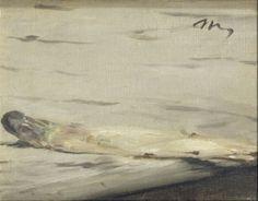 Asperge, Manet