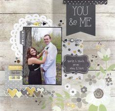 You & Me - Scrapbook.com - Simple Stories The Story of Us collection is perfect for prom pictures too!