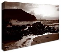 Simply Canvas have a variety of seascape canvas prints. Original wall art from Wall Prints, Canvas Art Prints, Canvas Wall Art, Ocean, River, Brown, Products, Brown Colors, The Ocean