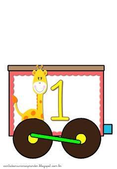Trenzinho dos numerais