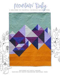 Mountain Baby  PDF Quilt Pattern