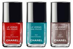 Le Vernis: La paleta de colores de esmaltes de Channel | Decoración de Uñas - Manicura y Nail Art