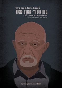 <b>A Hungarian artist created 62 illustrated posters for every episode of <i>Breaking Bad</i>.</b> Spoiler alert! Breaking Bad Poster, Breaking Bad Arte, Frases Breaking Bad, Affiche Breaking Bad, Serie Breaking Bad, Breaking Bad Episodes, Spoiler Alert, Illustrator, Fanart