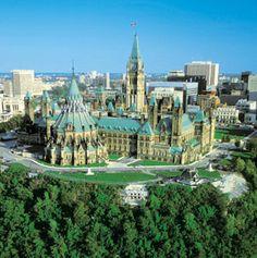 Ottawa, Ontario, Canada (Canada's Capital City) Rear of the Parliament Buildings on Parliament Hill Ottawa Canada, Canada Eh, Ottawa Ontario, Ottawa City, Ottawa River, Torre Cn, Ottawa Parliament, Voyager Loin, Canada Travel