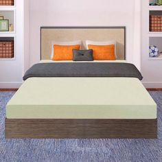 Mattress For Bedroom Original Premium Quality Memory Foam Bed White Twin Size #BestPriceMattress