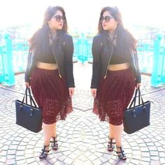 Aashna from Beyond That Bouffant.   11 Instagrammers Every Curvy Desi Girl Should Follow For Fashion Inspiration