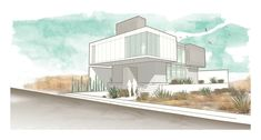 Image 22 of 26 from gallery of MA House / e| arquitectos. Front Perspective