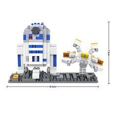 LOZ Micro blocks Star wars r2-b2 9528 http://www.aliexpress.com/store/1182658