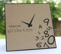 Happy Stamping Designs: I miss You