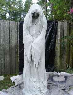 Ghost Do it Yourself Halloween Decorations