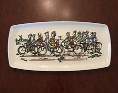 A personal favorite from my Etsy shop https://www.etsy.com/listing/472114814/holland-bike-plate-by-koninklijk