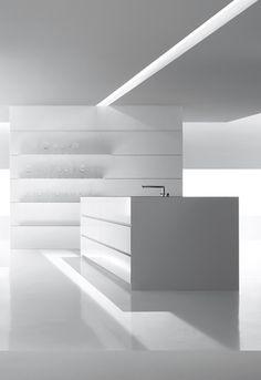 Minimal design Kitchen by Verve Kitchen     #LGLimitlessDesign & #Contest