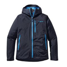 Patagonia Men\'s Insulated Torrentshell Jacket - Navy Blue NVYB