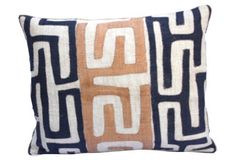 African    Kuba Cloth Pillow
