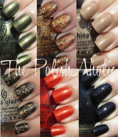 hunger games collection China Glaze