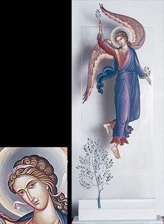 Βλάσιος Τσοτσώνης | Athens 2004 Byzantine Icons, Byzantine Art, Jesus Art, Holy Mary, Art Icon, Orthodox Icons, Religious Art, Hand Painted, Belgrade