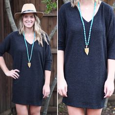 Sweater dress! Shop on site!